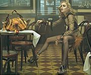 Madonna modelling for Louie Vuitton in their Spring/Summer 2009 collection