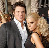 Jessica Simpson and Nick Lachey in happier times